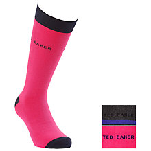 Buy Ted Baker Havit Stripe Socks, Pack of 2, One Size Online at johnlewis.com
