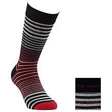 Buy Ted Baker Lilrich Stripe Socks, Pack of 2 Online at johnlewis.com