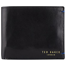 Buy Ted Baker Bifold Wallet, Black Online at johnlewis.com