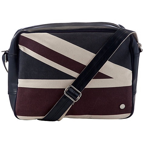 Buy Ben Sherman Union Jack Flight Bag Online at johnlewis.com