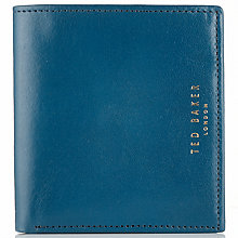 Buy Ted Baker Ohwow Leather Diagonal Bi-Fold Wallet Online at johnlewis.com