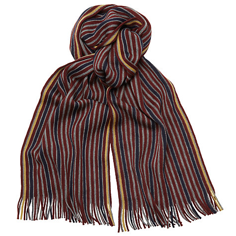Buy Ted Baker Multi Stripe Lambswool Scarf Online at johnlewis.com