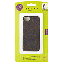 Buy Ted Baker  iPhone Case, Purple Online at johnlewis.com