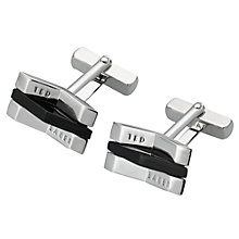 Buy Ted Baker Concave Cufflinks Online at johnlewis.com