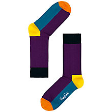 Buy Happy Socks 5 Colour Block Socks Online at johnlewis.com