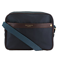 Buy Ted Baker Zip Front Messenger Bag Online at johnlewis.com