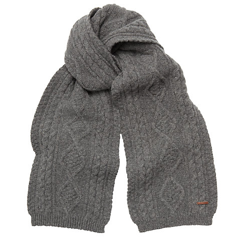 Buy Ted Baker Knitted Cable Scarf Online at johnlewis.com