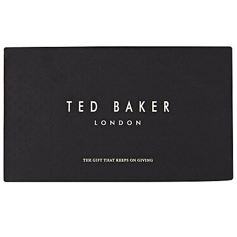 Buy Ted Baker Cardholder Wallet, Black Online at johnlewis.com