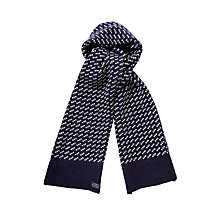 Buy Gant N.Y. Fisherman Scarf, Navy Online at johnlewis.com