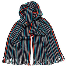 Buy Ted Baker Vertical Stripe Lambswool Scarf Online at johnlewis.com