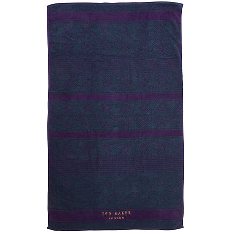 Buy Ted Baker Wash Bag and Towel, Black Online at johnlewis.com