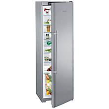 Buy Liebherr KPESF4220 Larder Fridge, A++ Energy Rating, 60cm Wide, Stainless Steel Online at johnlewis.com