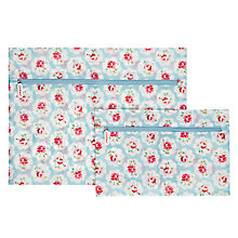 Buy Cath Kidston Travel Laundry Bags, Set of 2, Provence Rose Online at johnlewis.com