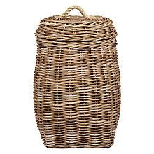 Buy Garden Trading Rattan Laundry Basket Online at johnlewis.com