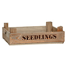 Buy Garden Trading Seedling Tray Online at johnlewis.com