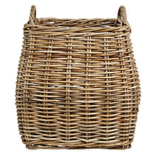 Buy Garden Trading Tapered Rattan Log Basket Online at johnlewis.com
