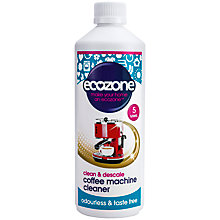 Buy Ecozone Coffee Machine Cleaner & Descaler Online at johnlewis.com