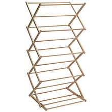 Buy Garden Trading FSC Folding Clothes Horse Online at johnlewis.com