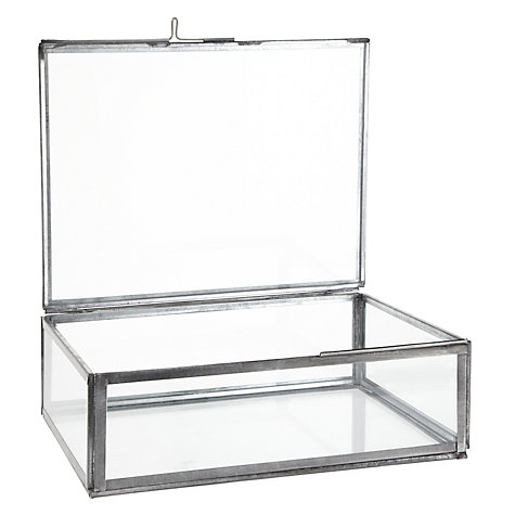 Buy Nkuku Oni Glass Box Online at johnlewis.com