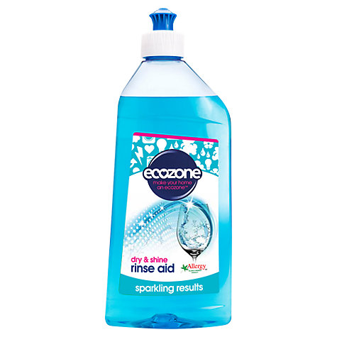 Buy Ecozone Dishwasher Rinse Aid Online at johnlewis.com
