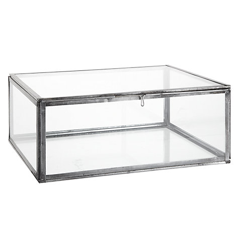Buy Nkuku Oni Glass Box, Large Online at johnlewis.com