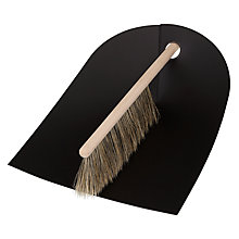 Buy Normann Copenhagen Dustpan and Brush Online at johnlewis.com