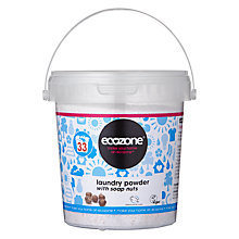 Buy Ecozone Laundry Powder With Soap Nuts Online at johnlewis.com