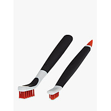 Buy OXO Good Grips Deep Clean Brush Set, Orange Online at johnlewis.com