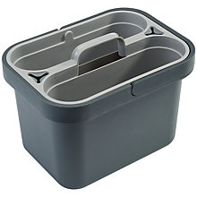Buy Joseph Joseph Clean & Store Bucket and Caddy, Grey Online at johnlewis.com
