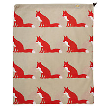 Buy Anorak Proud Fox Laundry Bag Online at johnlewis.com