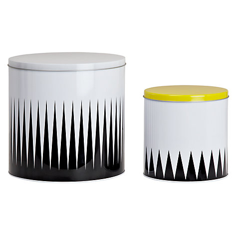 Buy Ferm Geometry Tins, Set of 2 Online at johnlewis.com
