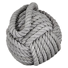 Buy John Lewis Round Rope Doorstop Online at johnlewis.com
