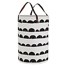 Buy ferm LIVING Half Moon Laundry Basket Online at johnlewis.com