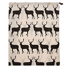 Buy Anorak Kissing Stags Laundry Bag Online at johnlewis.com