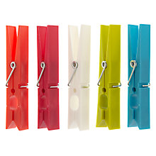 Buy House by John Lewis Clothes Pegs, Pack of 20 Online at johnlewis.com