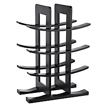 Buy John Lewis 12 Bottle Wood and Metal Wine Rack Online at johnlewis.com