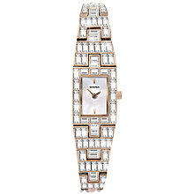 Buy Sekonda 4688.27 Swarovski Elements Mother of Pearl Watch, Rose Gold Online at johnlewis.com