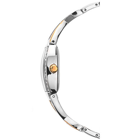 Buy Sekonda 4605.27 Women's Two Tone Diamante Twist Bracelet Strap Watch, Silver/Gold Online at johnlewis.com