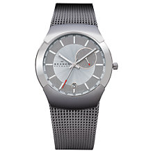 Buy Skagen 983XLSSC Men's Black Label Architect Watch, Silver / Grey Online at johnlewis.com