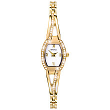 Buy Sekonda 4268.27 Diamante Slender Twist Watch, Gold Online at johnlewis.com