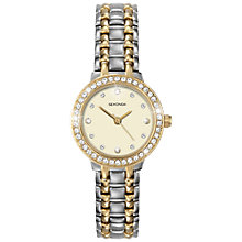 Buy Sekonda 4689.27 Women's Two Tone Diamante Watch, Silver / Gold Online at johnlewis.com