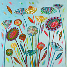 Buy Shyama Ruffell - August Feilds Print on Canvas, 60 x 60cm Online at johnlewis.com