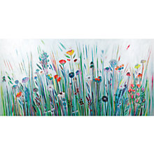 Buy Shyama Ruffell - Meadowlands Print on Canvas, 50 x 100cm Online at johnlewis.com