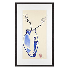 Buy Jane Dwight - Blossom Sprig Framed Print, 32 x 52cm Online at johnlewis.com
