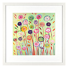 Buy Shyama Ruffell - 1 O'Clock Framed Print, 44 x 44cm Online at johnlewis.com