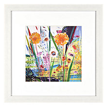 Buy Shyama Ruffell - Looking Forward Framed Print, 31 x 31cm Online at johnlewis.com