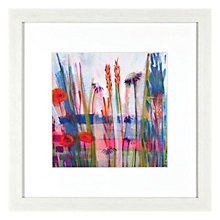 Buy Shyama Ruffell - Misty Meadow Framed Print, 31 x 31cm Online at johnlewis.com