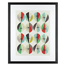 Buy Inaluxe - Orbital Framed Print, 54.5 x 45cm Online at johnlewis.com