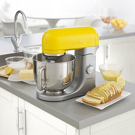 Buy Kenwood kMix KMX98 Stand Mixer, Yellow Online at johnlewis.com