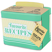 Buy Jamie Oliver Recipe Tin Online at johnlewis.com